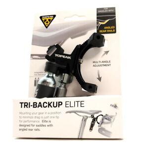 Topeak Tri-Backup Elite Saddle Mount Solution w/ 2x 16g CO2 Cartridges