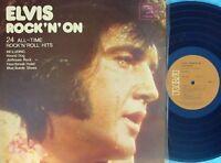 Elvis Presley ORIG OZ 2LP Rock 'n' on EX '73 RCA TSP135 Pop rock 24 Trks