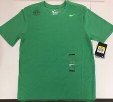 aee26076 $25 Nike 706625-342 Men's Dri-FIT Cotton Tee T-shirt Spring Leaf