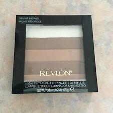 REVLON Highlighting Palette DESERT BRONZE Lot of (2) New SEALED Free Shipping!!