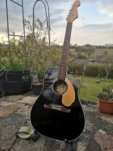 Fender Sonoran SCE Thinline California Series Electro Acoustic Guitar