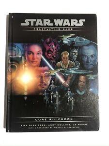 Star Wars Roleplaying Game: Core Rulebook by Bill Slavicsek,etc HARDCOVER