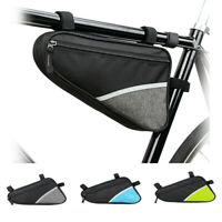 Triangle Bicycle Bag Waterproof MTB Cycling Bike Beam Pocket Front Frame Package