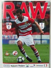 Doncaster Rovers v Crawley Town 13th August 2016 MINT CONDITION