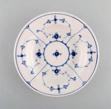 Antique Royal Copenhagen Blue Fluted deep plate. 1820-1840.