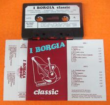 MC I BORGIA Classic italy ART MUSIC 101 no cd lp dvd vhs