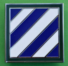 """3rd INFANTRY DIVISION CSIB Combat Service ID Badge DIV """"ROCK OF THE MARNE"""""""