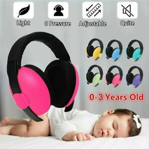 Adjustable Baby Ear Muffs Noise Cancelling Reducing Earmuffs HearingProtection !