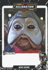 Mike Quinn Official Pix Star Wars Autograph Trading Card Celebration V Exc