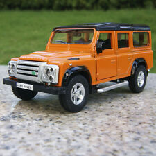 """Land Rover Defender 5.3"""" Model Car Alloy Diecast Collection&Gifts Toy New Orange"""