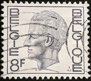 Stamp Belgium SG2216 1972 8Fr King Baudouin Used