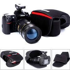 Neoprene Case Bag Pouch for All L SIZE DSLR Canon Nikon Sony