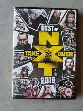 NXT BEST OF TAKEOVER 2018 - COFFRET 2 DVD DE CATCH WWE NEUF EN ANGLAIS