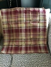 Plaid Tier Window Curtains - Set Of 2