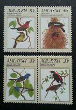 Malaysia The Protected Passerine Birds 1988 Tree Fauna Nest (stamp) MNH