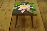 1950s Vintage Flower Stand Bench Rockabilly Stool Lotus