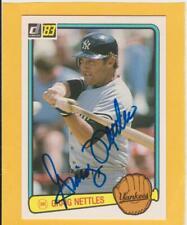 Autographed Graig Nettles 1983 Yankees  #83