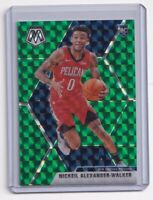 2019-20 Panini Mosaic Green Prizm Rookie Nickeil Alexander-Walker RC #205
