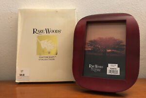 1998 Rare Woods Mastercraft Collection 5x7 Furniture Finish Photo Frame NEW