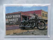 Nostalgic New Harley Davisdon 2015 Iron 883 Design Happy Birthday Card