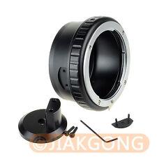 """Nikon G AF-S AI F to Nikon 1 J1 J2 J3 V1 V2 S1 Adapter with Tripod 1/4"""" Mount"""