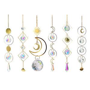 Crystal Ball Suncatcher Rainbow Maker Prisms Home Window Decor Ornaments