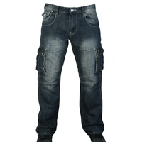 New Mens Jeans Cargo Combat Regular Straight Leg Work Jeans Workwear pants