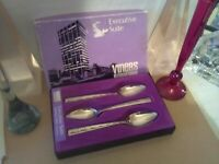 Viners Executive Suite Stainless Steel Grapefruit Spoons x 6 **Boxed**