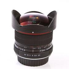 8mm f/3.5 Lente Ojo De Pez Super Gran Angular fr Nikon D7200 D810 D550 D4S D610