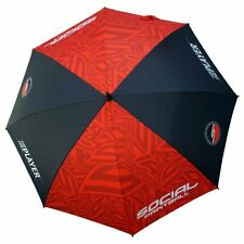"""Social Paintball 48"""" Red and Black Event Umbrella New free shipping"""