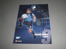 Eduardo Vargas signiert TSG 1899 Hoffenheim Saison 2016/2017 Autogrammkarte