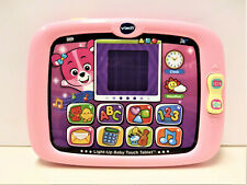 Vtech Light-Up Baby Touch Tablet Educational Play Toy - Pink