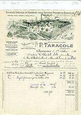 Dépt 16 - La Rochefoucauld -Superbe Entête Matériel pour T P & Agricoles de 1911
