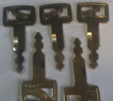 5 clés Fit CASE Linkbelt JCB Sumitomo Excavateur 150979A1 KHR0369 S450 K3
