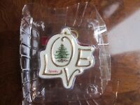 Spode Christmas tree ornament Porcelain