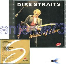 "DIRE STRAITS ""WALK OF LIVE"" RARE CD LIVE - MADE IN ITALY"