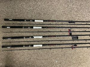 4PK NEW DAIWA WILDERNESS 9'6 MH TROLLING RODS DIPSY