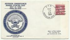 1956 USS Bordelon DDR 881 Armed Forces Day Moffett Chapter Numbered
