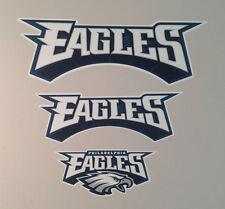 "Philadelphia Eagles FATHEAD Lot/3 Team Banner Graphics (8"" to 23"") NFL Decals"
