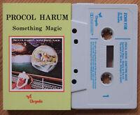 PROCOL HARUM - SOMETHING MAGIC (CHRYSALIS ZCHR1130) 1977 UK CASSETTE TAPE PROG
