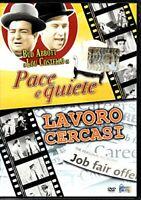 Pace e Quiete - Lavoro cercasi con Abbott & Costello - DVD DL006287