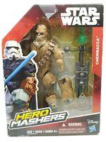 """Hasbro Star Wars 2005 Hero Mashers CHEWBACCA 6.5"""" Figure New"""