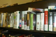 Lot of 38 Audibooks on CD fiction/novels/Follett/Ludlum +