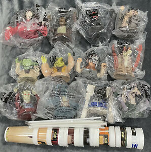 Star Wars Episode 1 * 1999 KFC/Pizza Hut/Taco Bell Complete Set Cups & Toppers