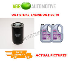 DIESEL OIL FILTER + FS 5W30 OIL FOR LAND ROVER DISCOVERY 2.5 122BHP 1994-98