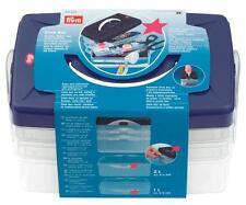 NEW | Prym 612403 | Click Craft/Sewing Storage Box/Organiser | 24 x 16½ x 14cm