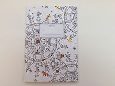 The Time Garden Exercise Book With Adult Colouring Pages By Go Stationery Gift