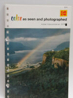 Kodak Color As Seen and Photographed E-74 1974 1527910 Guide Booklet - B134