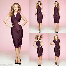 Avon- body illusions- 8 ways to wear- deep burgundy dress- size 18/20