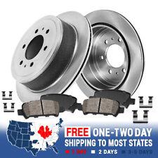 Auto Parts and Vehicles Rear Brake Rotors & Ceramic Pad for 2005-2009 2010 2011 2012 NISSAN PATHFINDER Car & Truck Brakes & Brake Parts